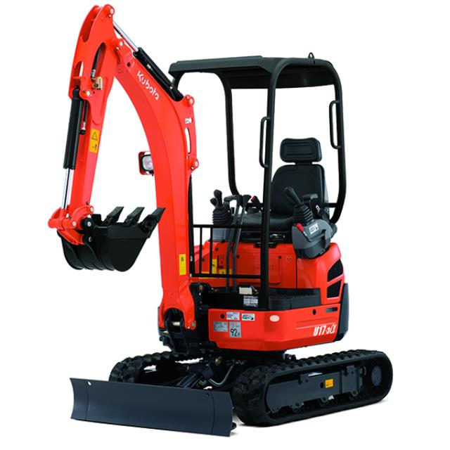Where to find 4  WIDE KUBOTA U17 EXCAVATOR in Salem