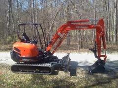 Rental store for 6  WIDE KUBOTA KX040 W O CAB EXCAVATOR in Salem OR