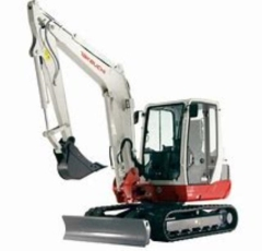 Rental store for 6  WIDE TAKUECHI TB250 W CAB EXCAVATOR in Salem OR