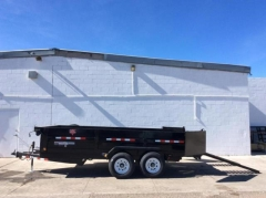Rental store for 7 X10 DUMP TRAILER, SURGE BRAKE in Salem OR