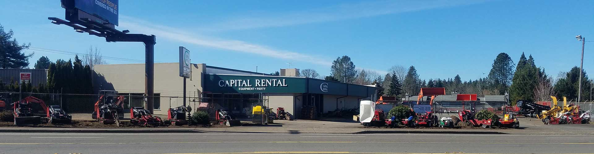 Construction rentals in the Central Willamette Valley